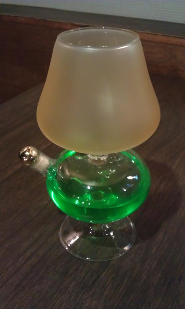 LAMPE HUILE