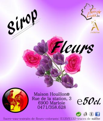 Sirop Fleurs
