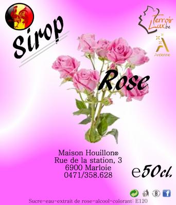 Sirop Rose