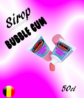 Sirop Bubble gum