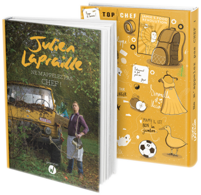 Livre de recettes et biographie de Julien Lapraille