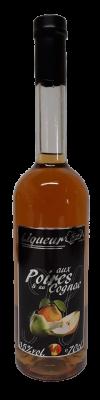 Liqueur aux Poires et au Cognac 35%vol.