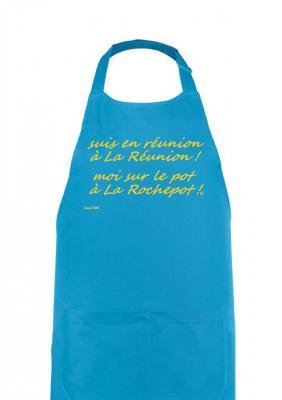 suis en réunion à La Réunion ! moi sur le pot à La Rochepot !