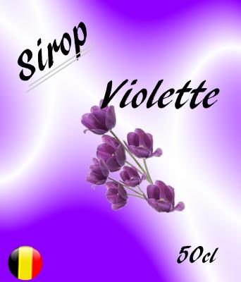 Sirop Violette